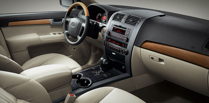 kia mohave interior