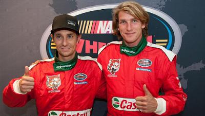 Filhos De Niki Lauda E James Hunt Na Euro Nascar