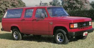 A segunda geração das picapes Chevrolet e seus parentes no exterior